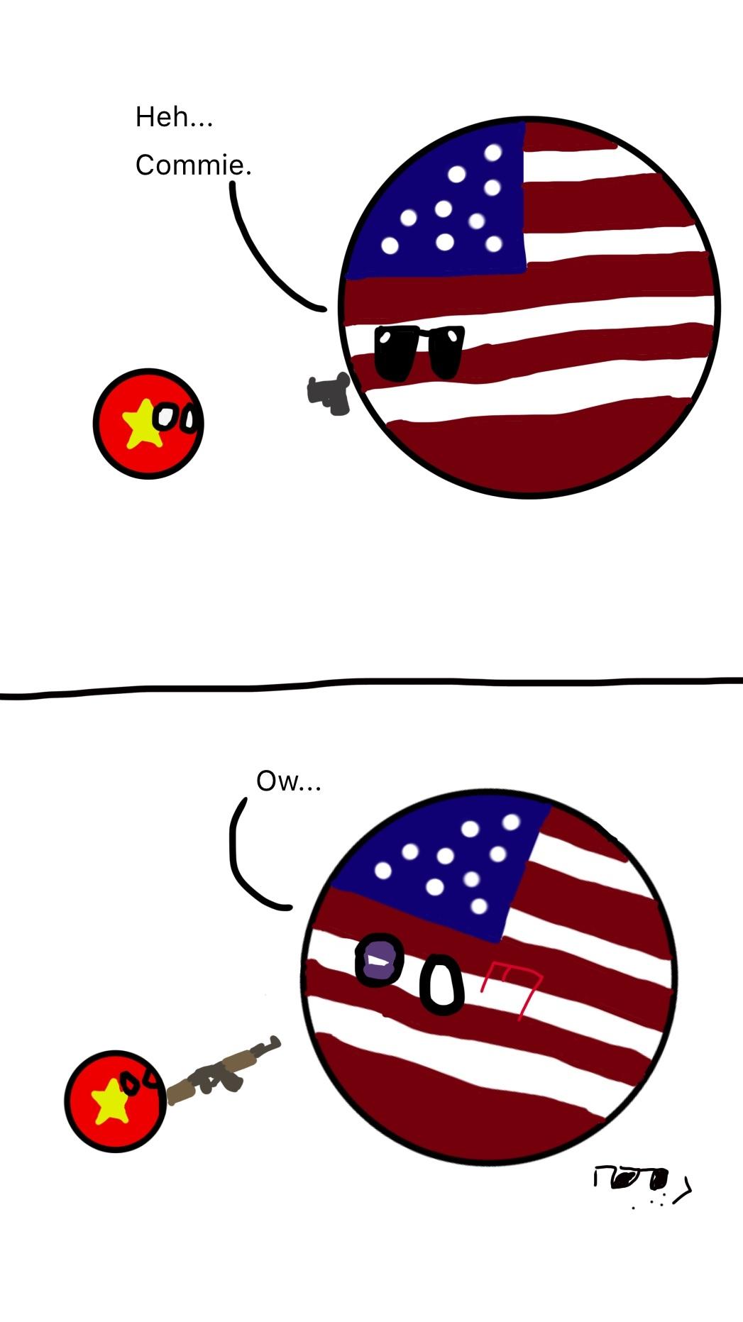 Vietnam intensifies - meme