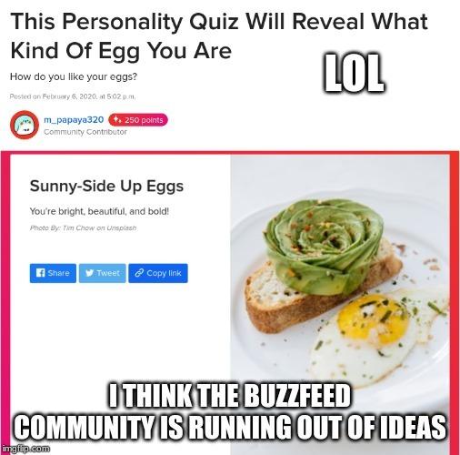 oooh thanks buzzfeed - meme