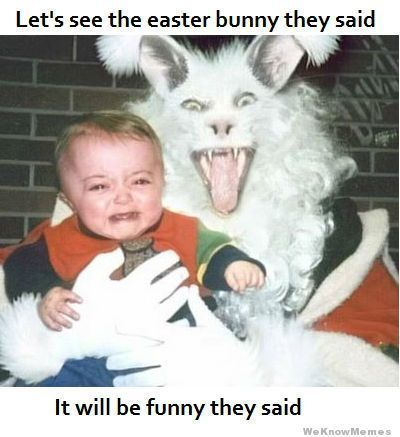 happy easter  everyone ! - meme
