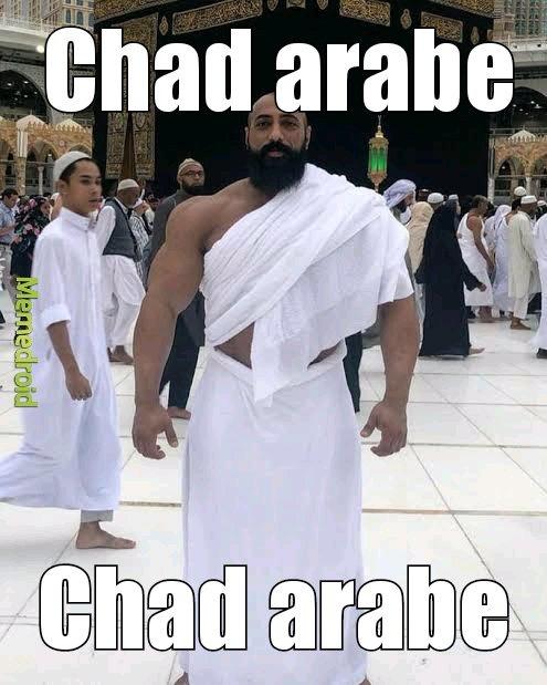 Chad arabe - meme