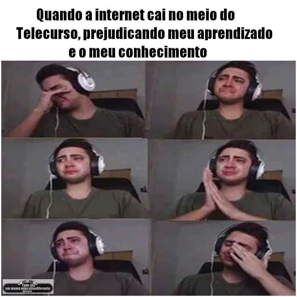 Telecurso - meme