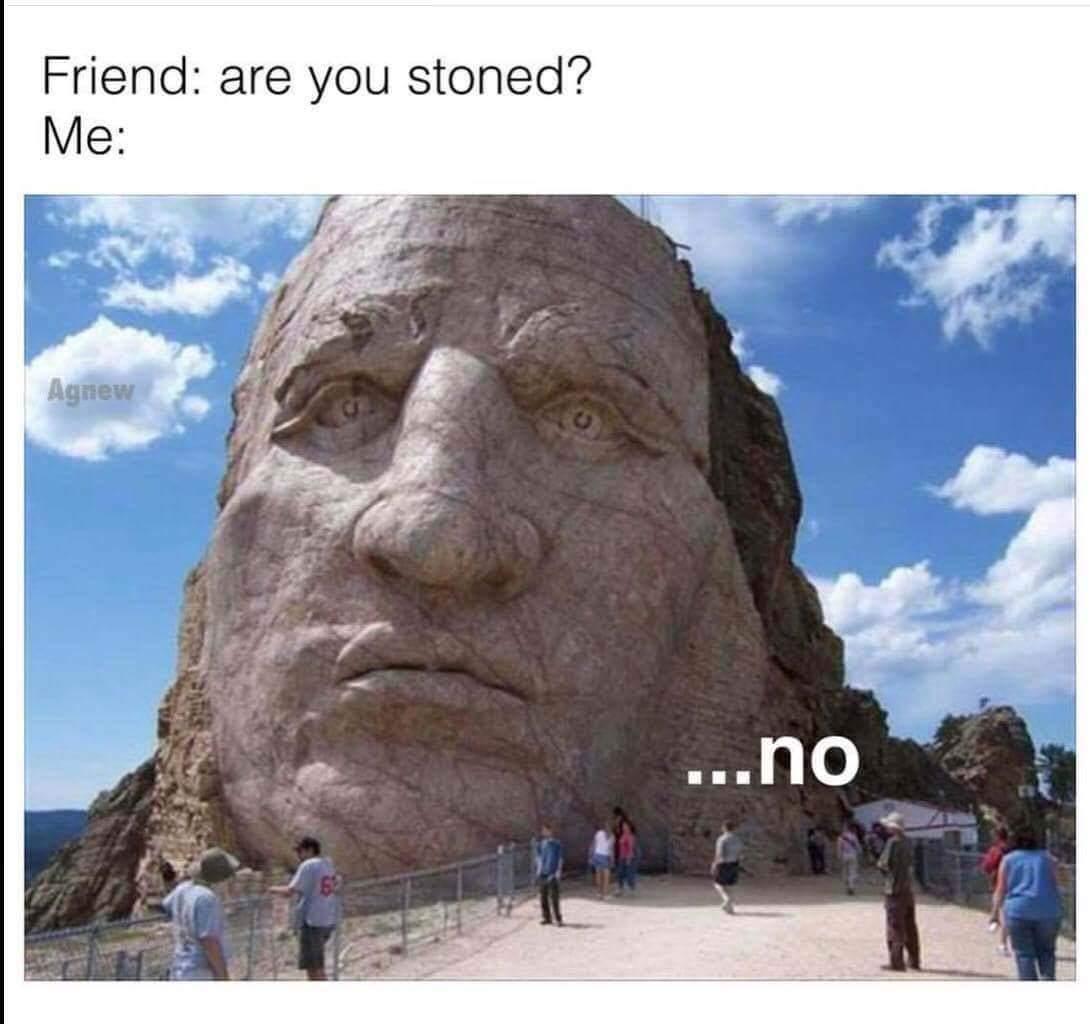 Umm...no way, man. - meme