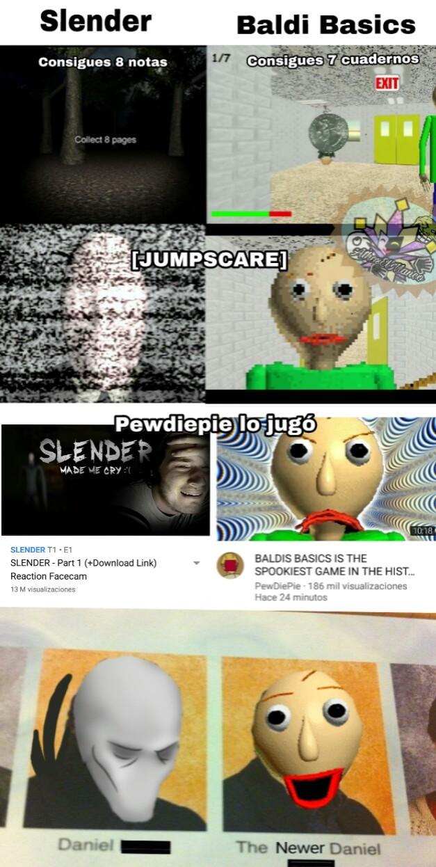 Baldi es un nuevo juego de terror popular (como si faltaran de esos) - meme