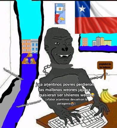 Ahora ese chileno esclavizado tiene un lago artificial echo con un terremoto :happy: - meme