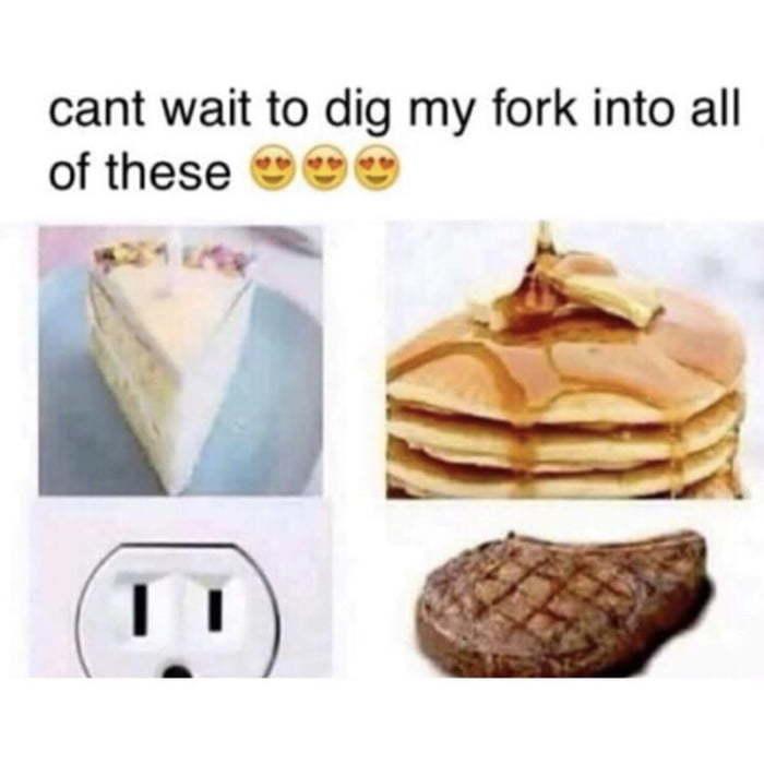 Plan B when your toaster is waterproof - meme