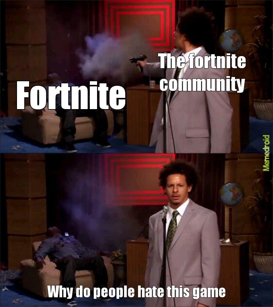 Fortnite is garbage - meme