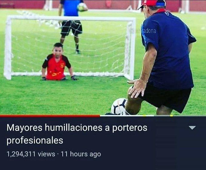 TOP HUMILLACIONES A PORTEROS - meme
