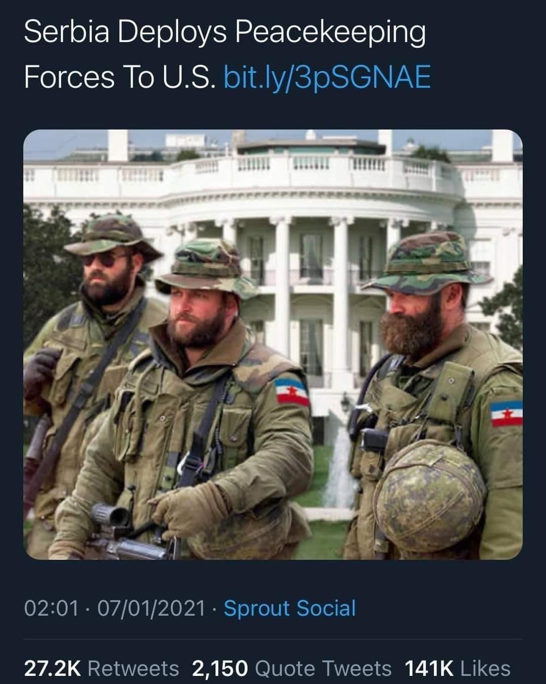 US Peacekeeping - meme