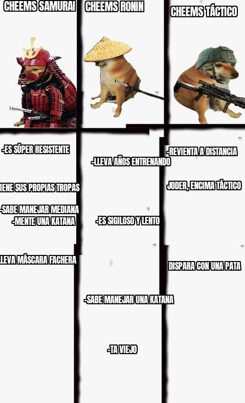 Versus de Cheems - meme