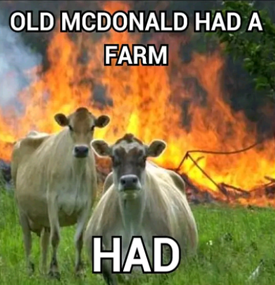 Old Mcdonald HAD a farm - meme