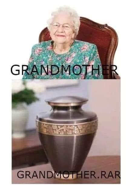 Hace rato lo vi y me recordó a mi abuelita :'v - meme