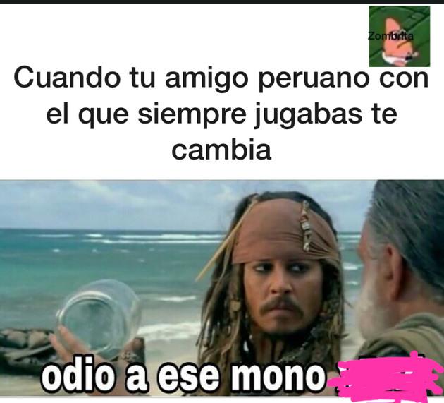 Peruanos - meme