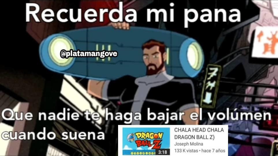 Platamango GOD - meme