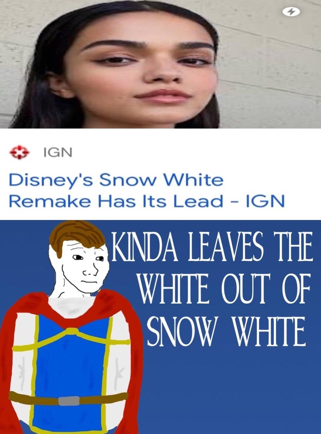 Snow White. - meme
