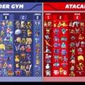 Os melhores pokémon pra ataque e defesa