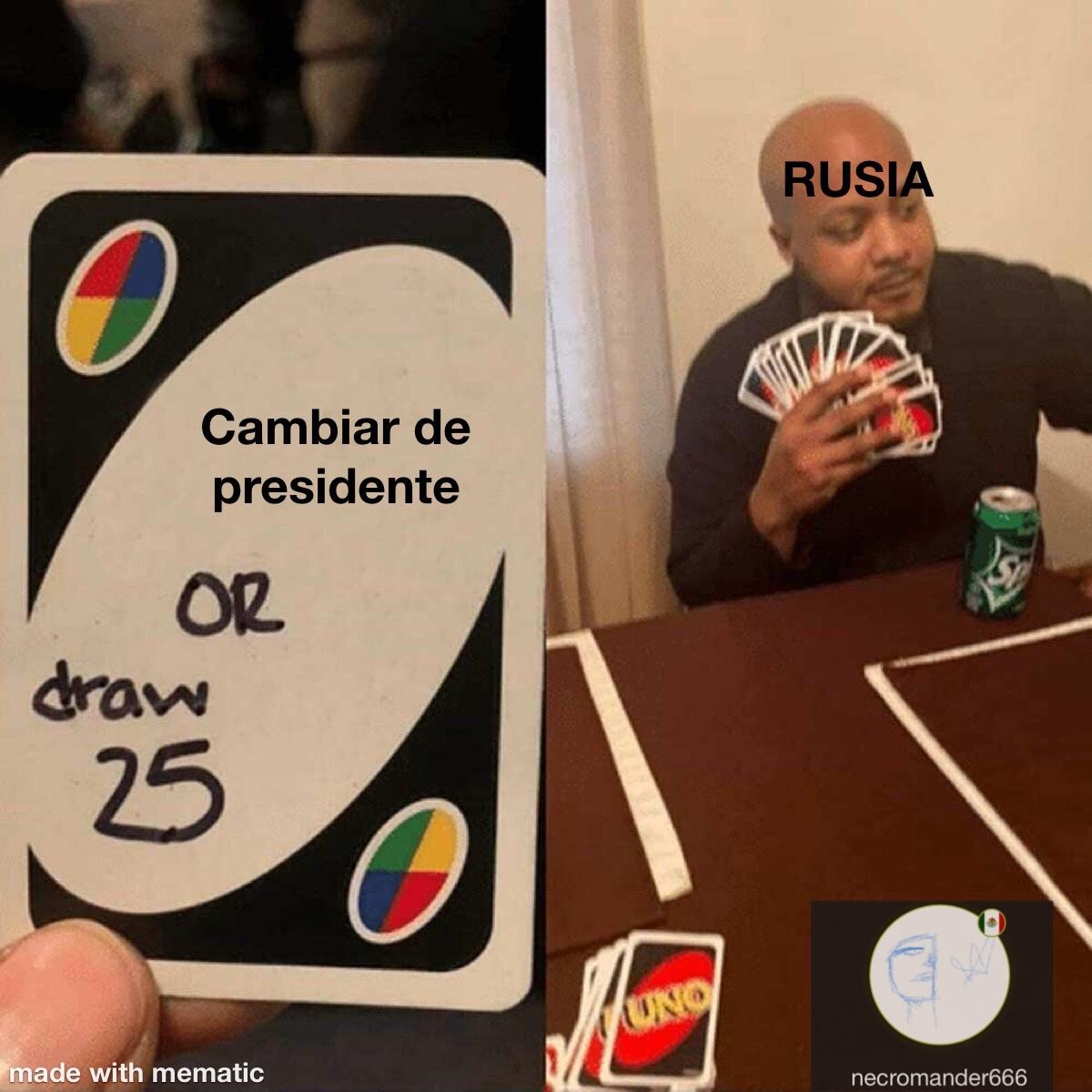 Rusia be like - meme