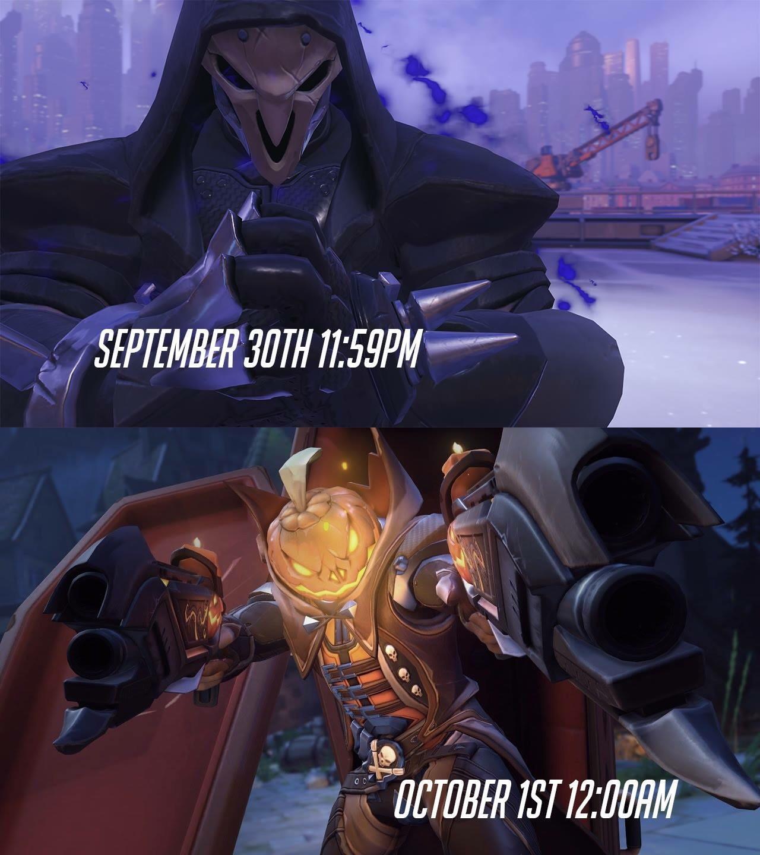 Spook spook spooook! Heroes never spook - meme