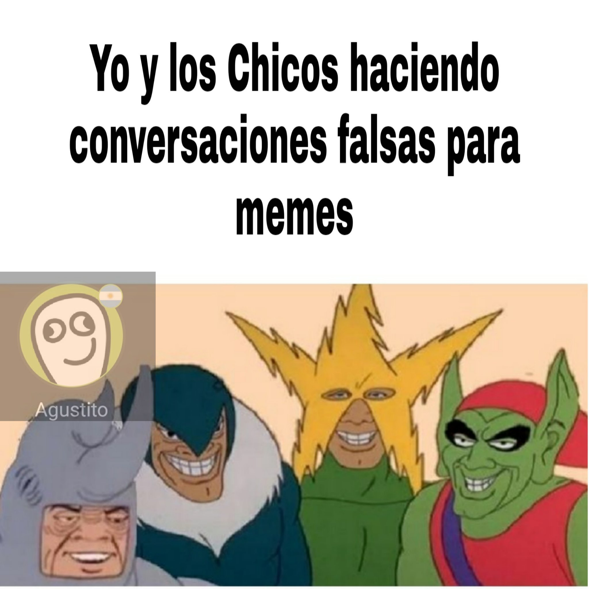 Los pibes - meme