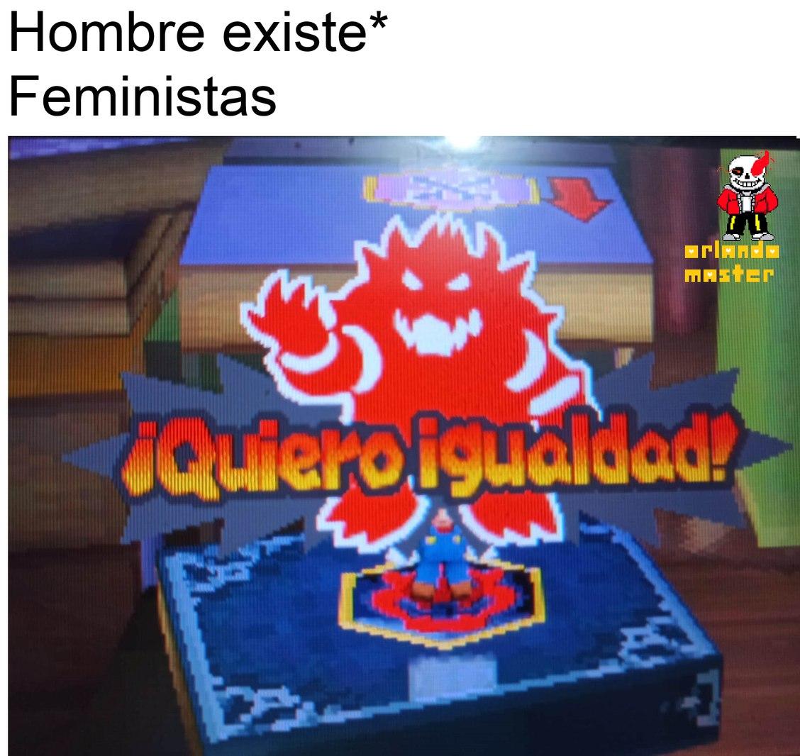 Bolsillos=igualdad - meme