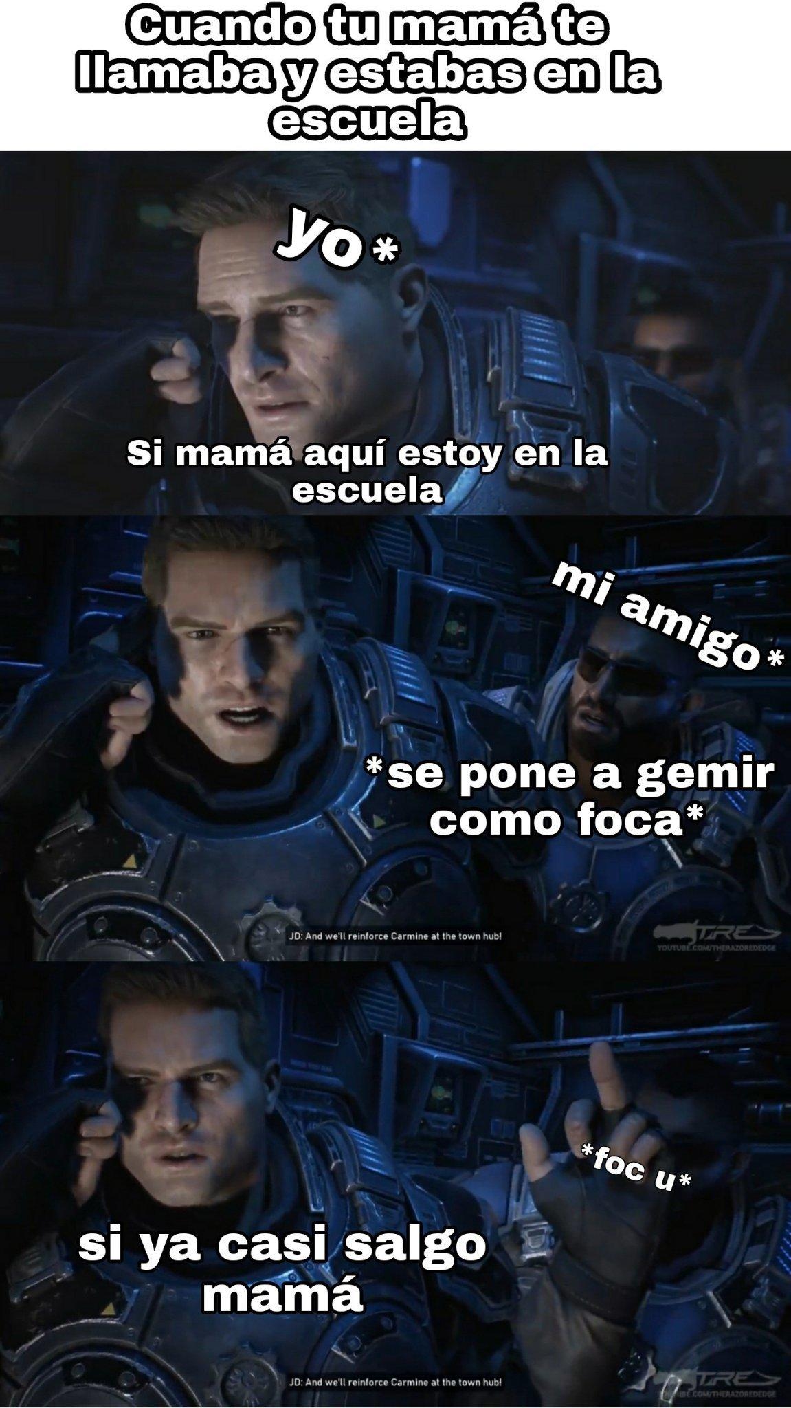 Me pasaba >:/ - meme