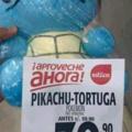 pikachu tortuga
