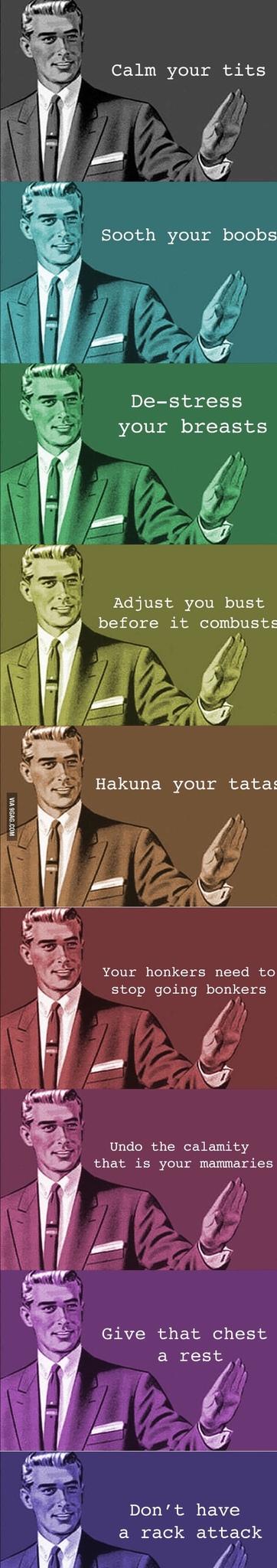 Halina your tatas - meme