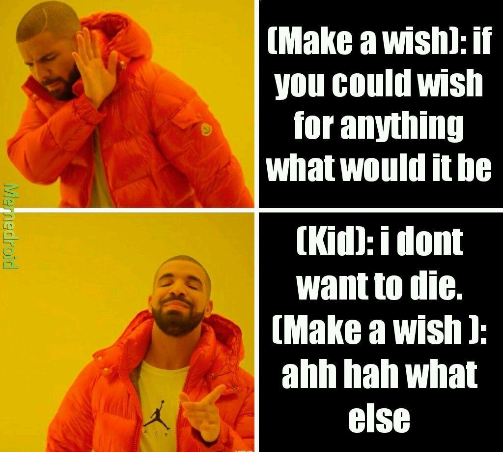 Dark humour joke - meme