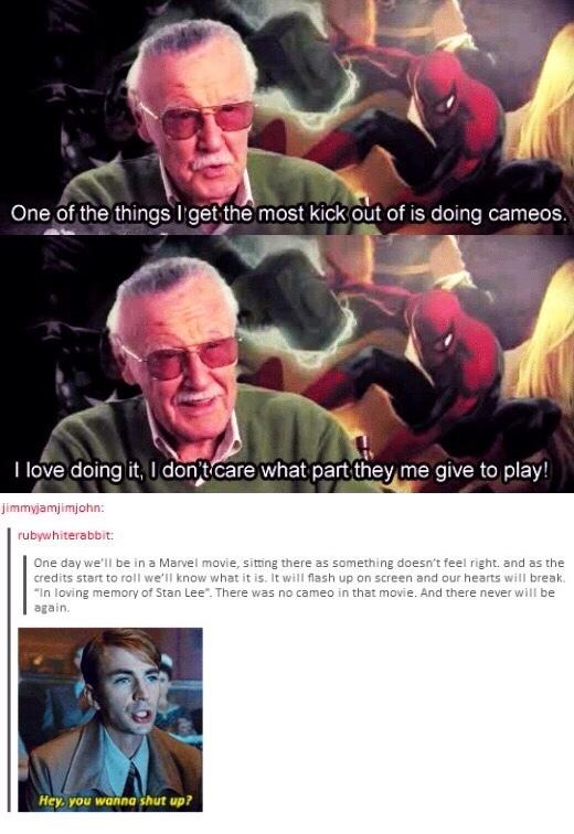 I wish I could meet Stan Lee - meme