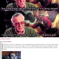 I wish I could meet Stan Lee