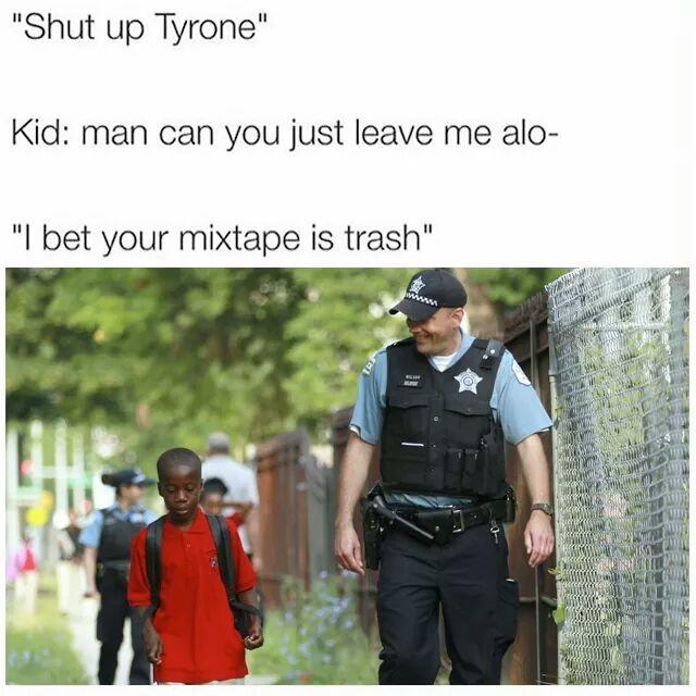 Shit be weak - meme