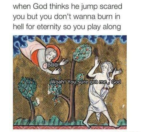 Jump Scare - meme
