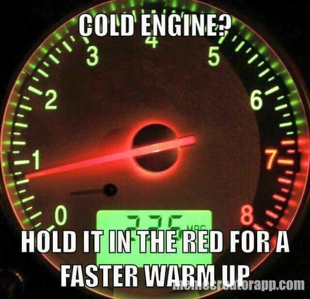 Quick warm up - meme