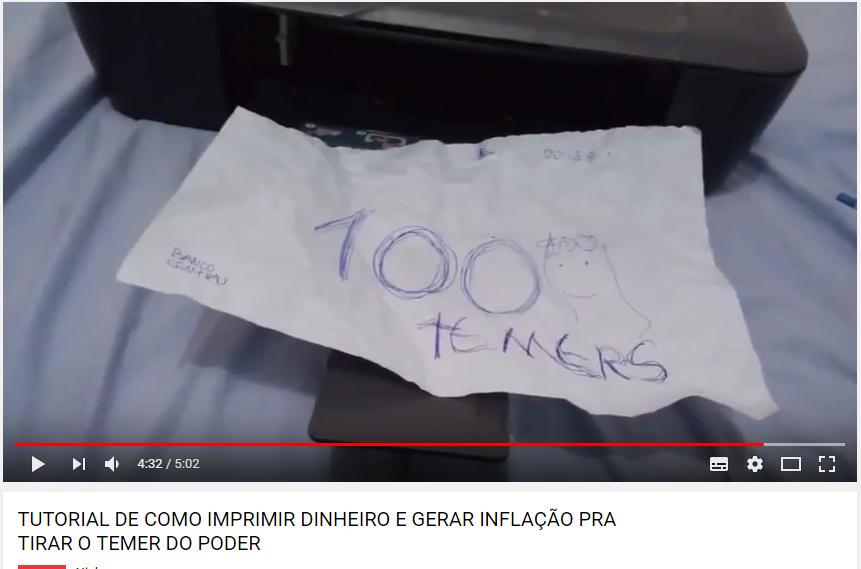 """""""100 temers""""/Não é fake - meme"""