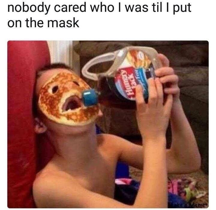 Face Food - meme