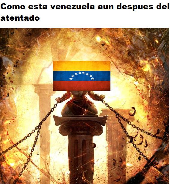 Pobre Venezuela ;_; - meme