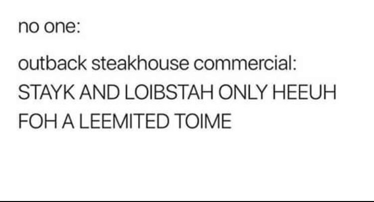Outback Steakhouse - meme