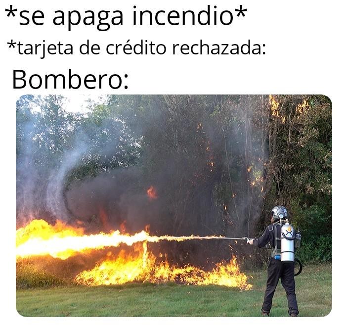 Necesito molotovs - meme