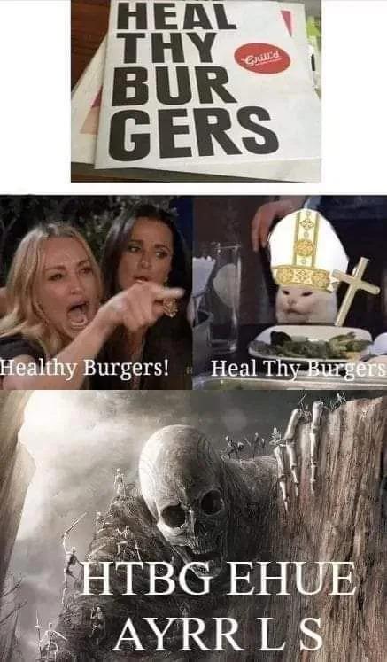 Borgar - meme