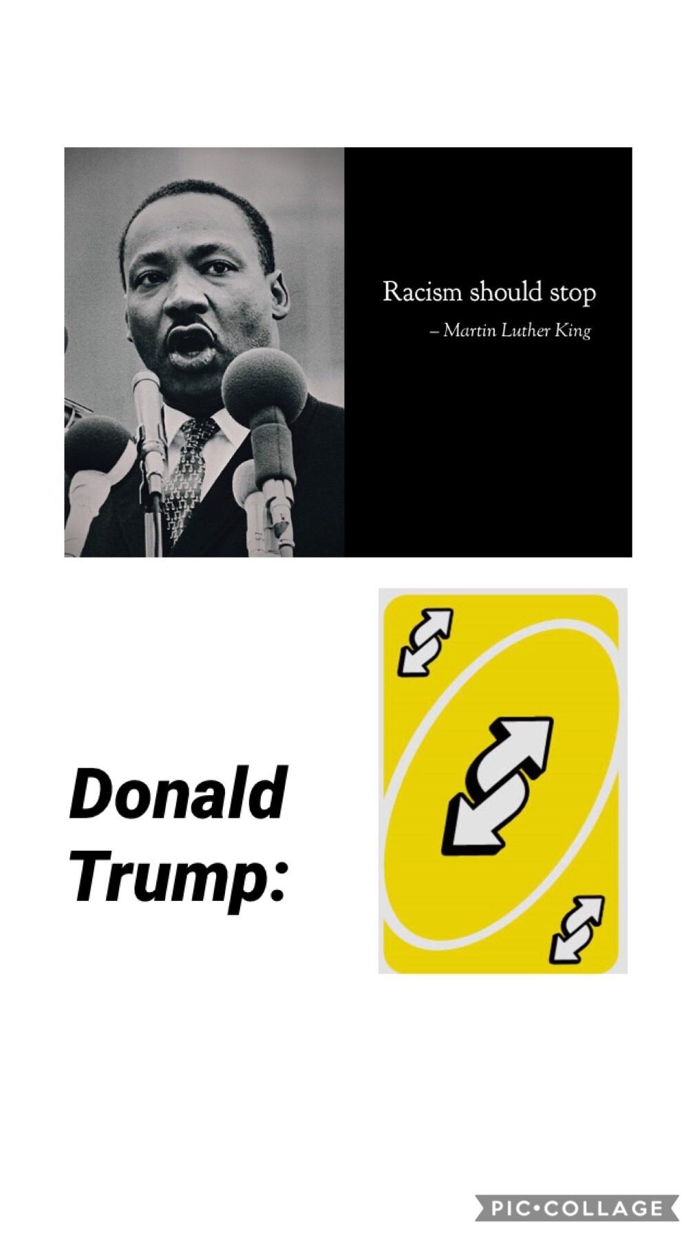 Racism is bad - meme