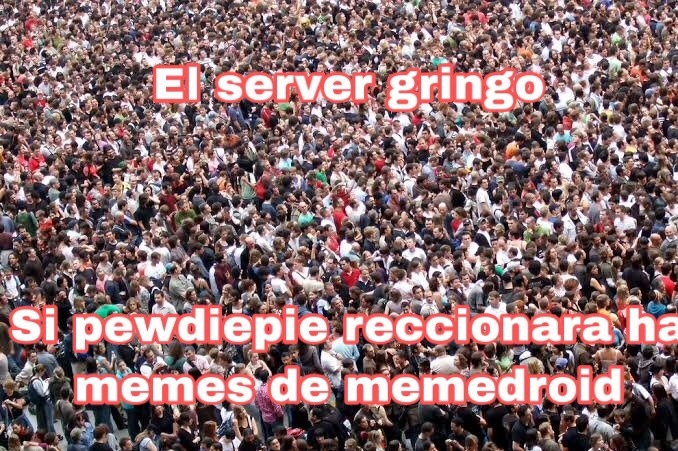 Servers caídos - meme