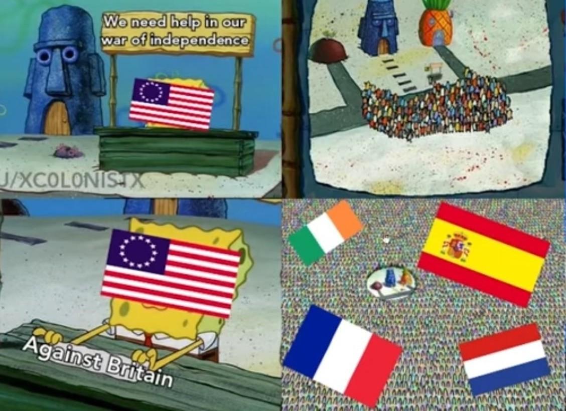 Si on peut tapé les anglais, on est là - meme