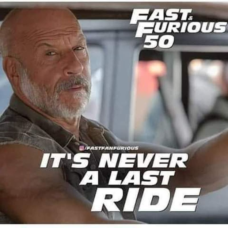 Probably a repost. But the ride will outlast us all. - meme