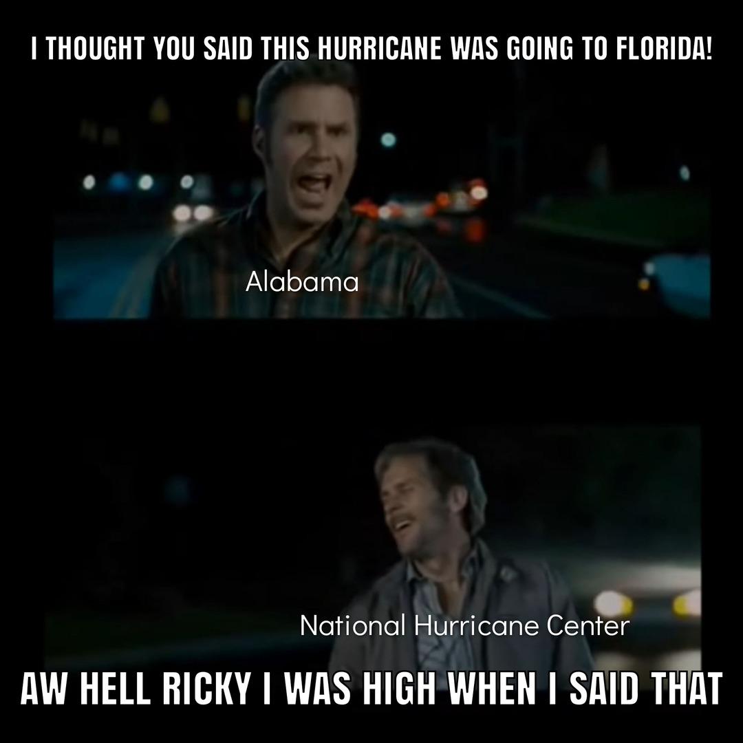 Hurricane Fred - meme