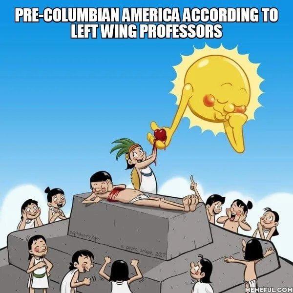 Happy indigenous people's day - meme
