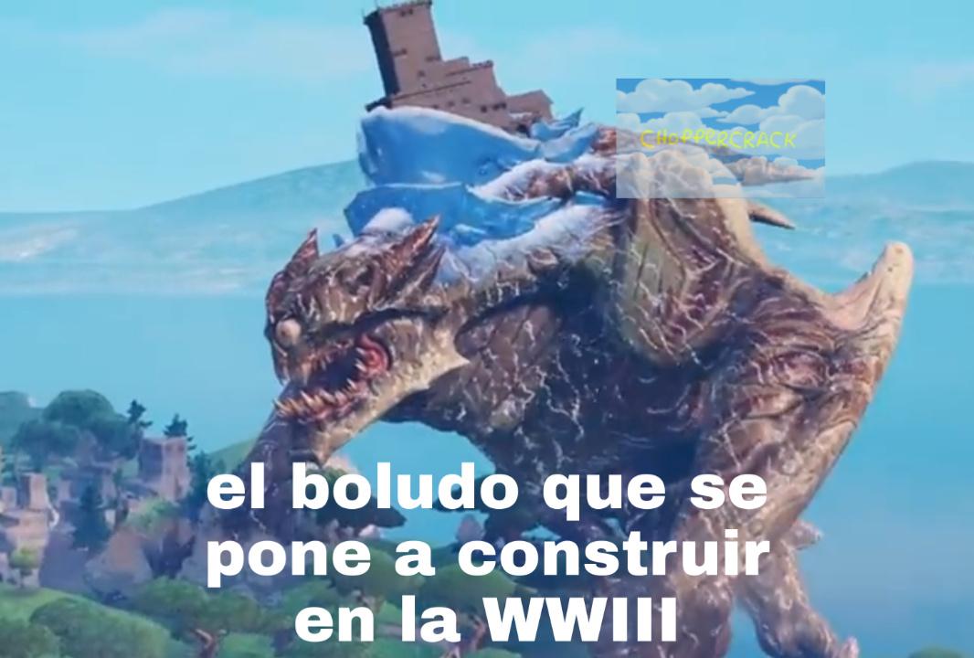 Que este sea el último meme de la WWIII por favor.