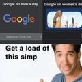 Google is a mega simp