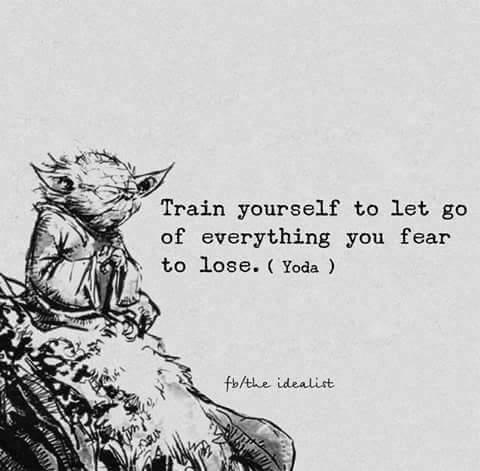 Quote from Grandmaster Yoda - meme