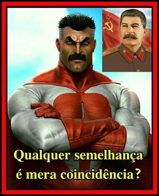 Stalin herói - meme