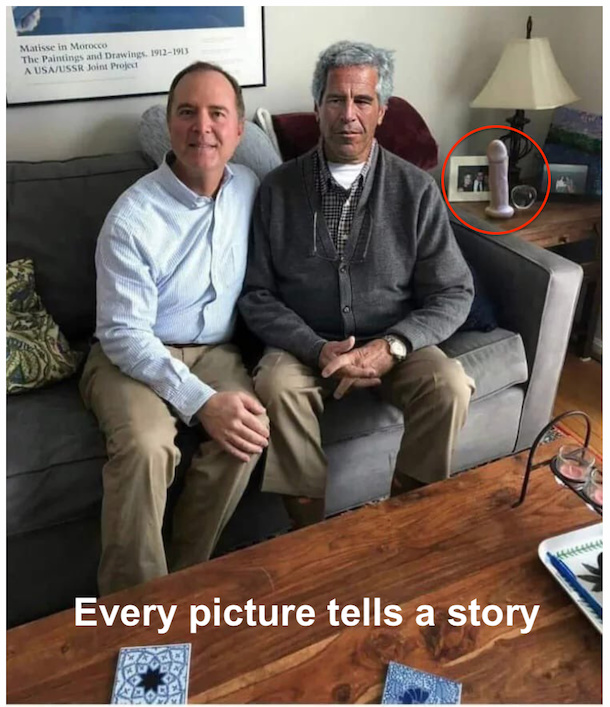 """Unknown fact: Jeffrey Epstein wrote the shortest poem about the man sitting next to him. It was called """"Venereal Diseases"""" and it goes """"Adam had 'em"""". - meme"""
