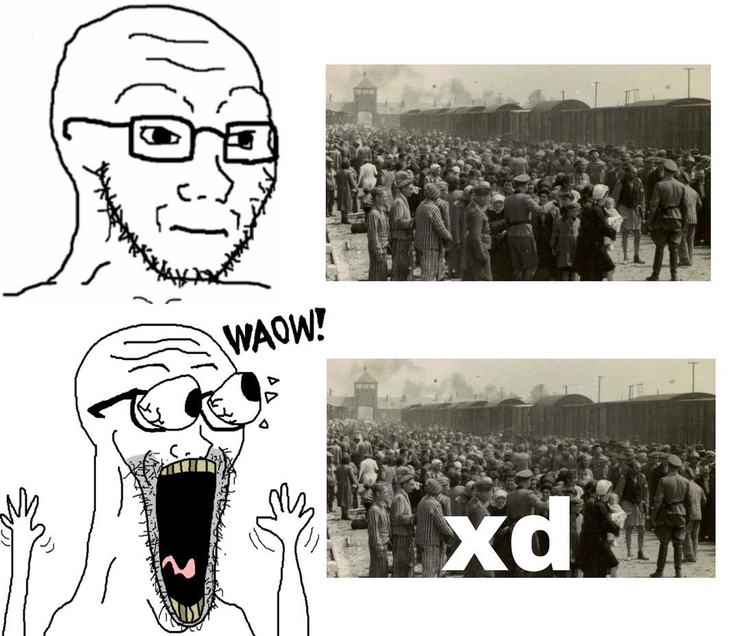 Porque ahora resulta que cualquier cosa se vuelve graciosa con un XD :facepalm: se que el formato está algo pasado de moda pero aún así lo subo - meme